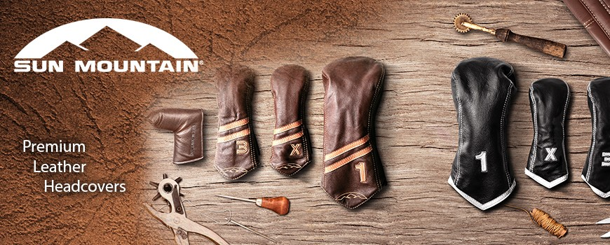 Sun Mountain Leather headcovers
