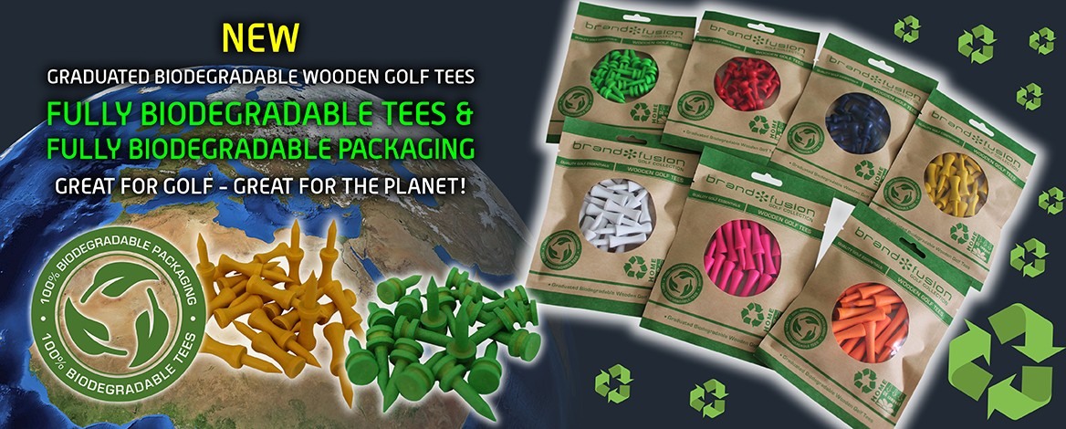 Eco biodegradable golf tees