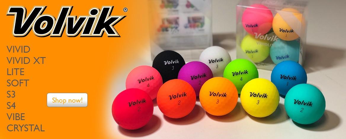 VOLVIK VIVID Golf Balls