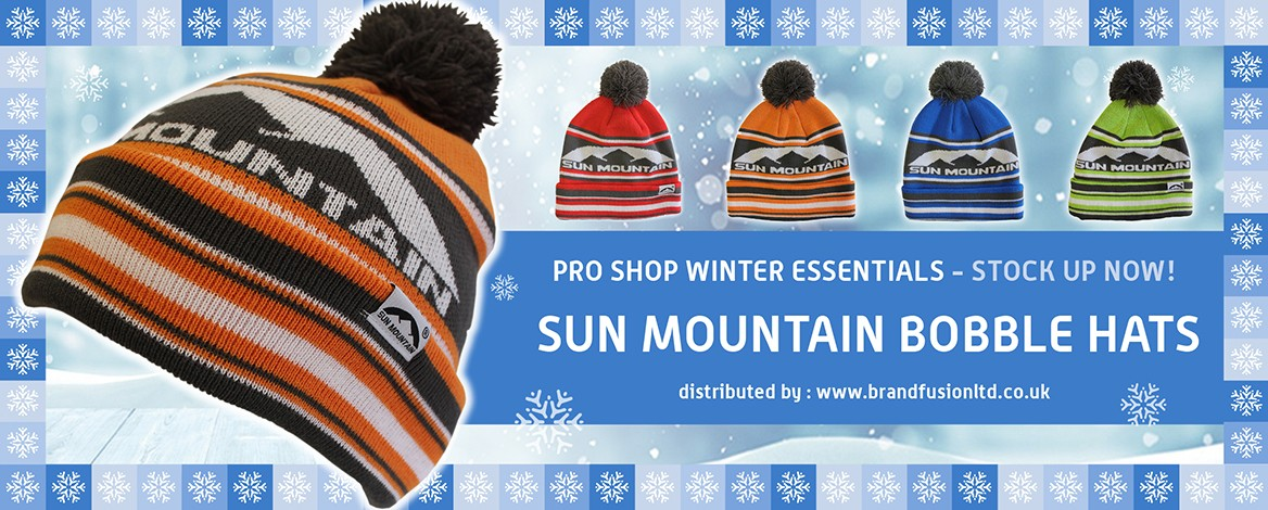 Winter Golf - Sun Mountain Bobble Hats