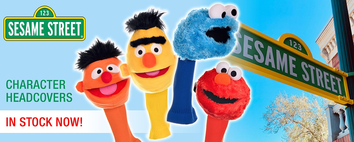 Sesame Street Headcovers