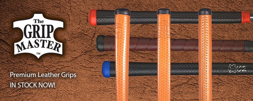The Grip Master Leather Golf Grips